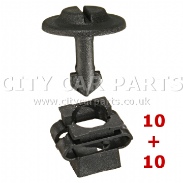 AUDI A3 A4 A6 VW SKODA ENGINE UNDERTRAY CLIPS & CLAMPS SPLASHGUARD UNDER COVER